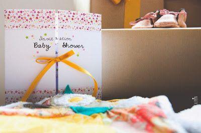 faire-part et décoration baby shower sur-mesure éléphant liberty coloré
