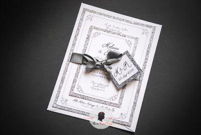 faire-part de remerciement mariage sur-mesure et décoration papeterie princesse royale strass paillettes