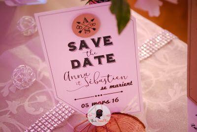 faire-part de mariage sur-mesure et décoration papeterie industriel kraft