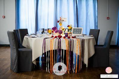 faire-part de mariage sur-mesure et décoration papeterie bistrot kraft liberty automne