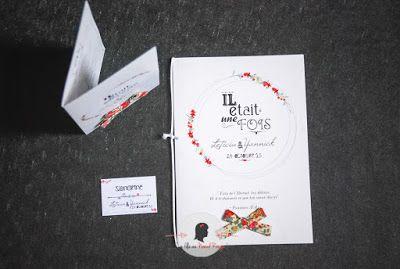 Livret de messe mariage sur-mesure et décoration papeterie rétro vintage liberty livret de messe