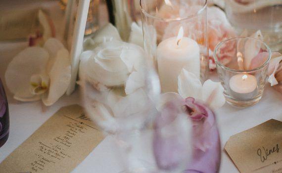 papeterie mariage personnalisée menu kraft fanion minimaliste