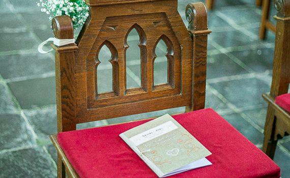 Livret de messe cérémonie à personnaliser mariage baptême