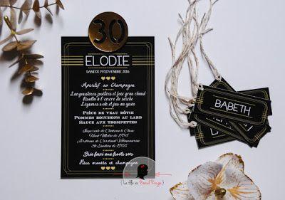 Invitation Anniversaire Sur Mesure Et Décoration Papeterie Chic