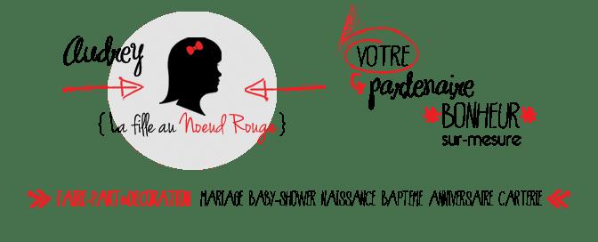 la fille au noeud rouge votre partenaire bonheur sur-mesure créatrice faire-part sur-mesure