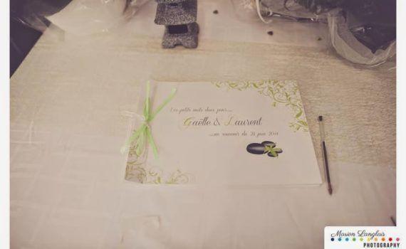 faire-part de mariage et décoration papeterie sur-mesure zen strass arabesque