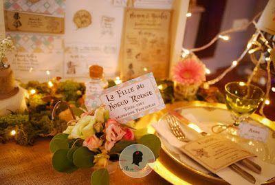 faire-part de mariage sur-mesure et décoration papeterie kraft alice au pays des merveilles