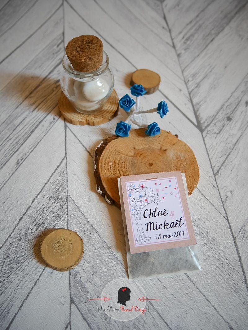 Faire-part sur mesure mariage papeterie cadeau invite sachet graine champetre (1)