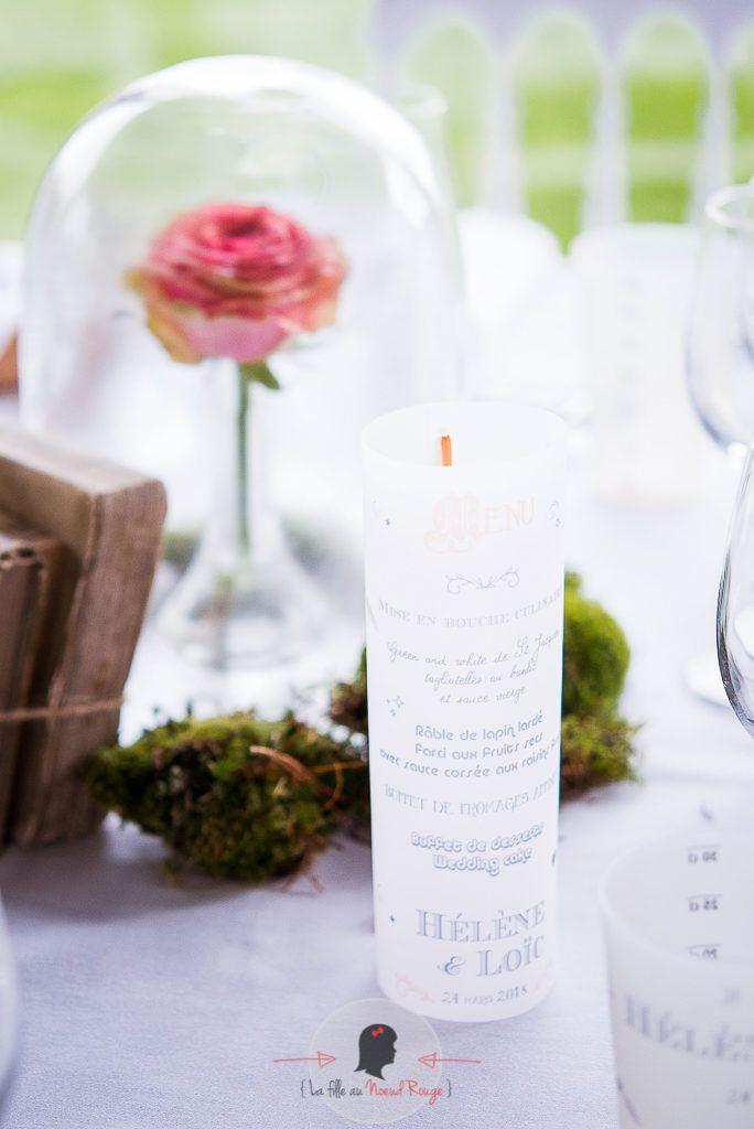 La fille au Nœud Rouge - décoration papeterie mariage ludique humour lego jeu de l'oie menu photophore