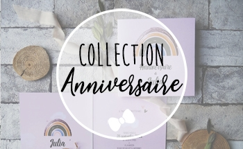 La fille au Noeud Rouge - collection invitation anniversaire