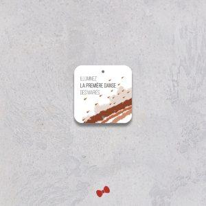 La fille au Noeud Rouge - Etiquette baton étincellant mariage terracotta minimaliste
