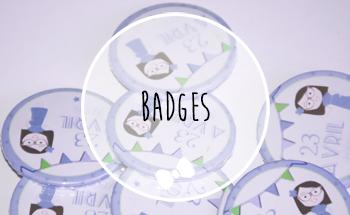 badge baby shower
